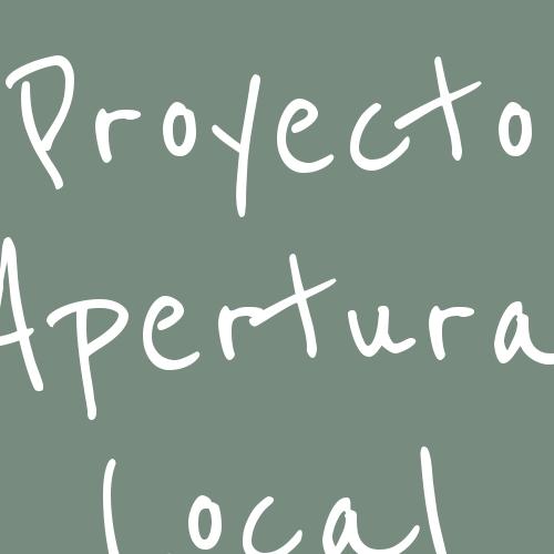 Proyecto Apertura Local