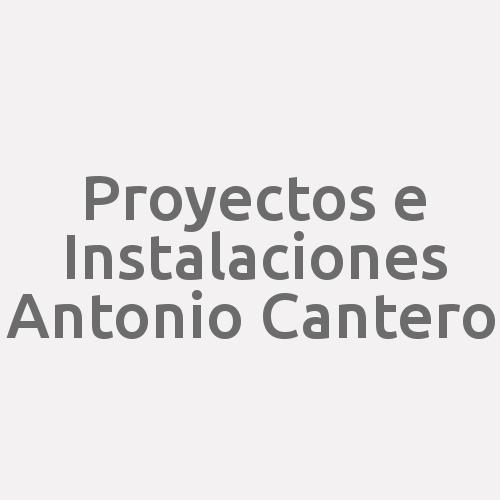 Proyectos E Instalaciones Antonio Cantero