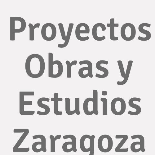 Proyectos Obras y Estudios Zaragoza