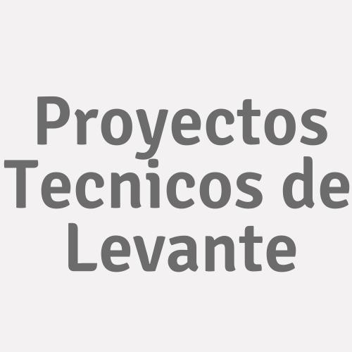Proyectos Tecnicos de Levante