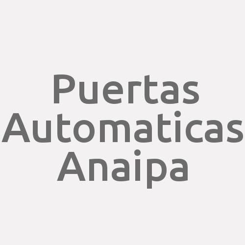 PUERTAS AUTOMATICAS ANAIPA