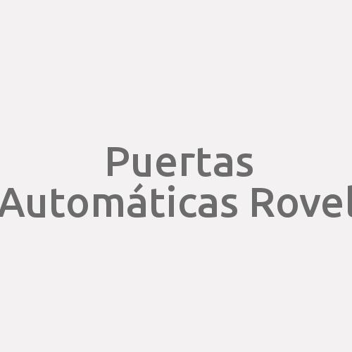 Puertas Automáticas Rovel