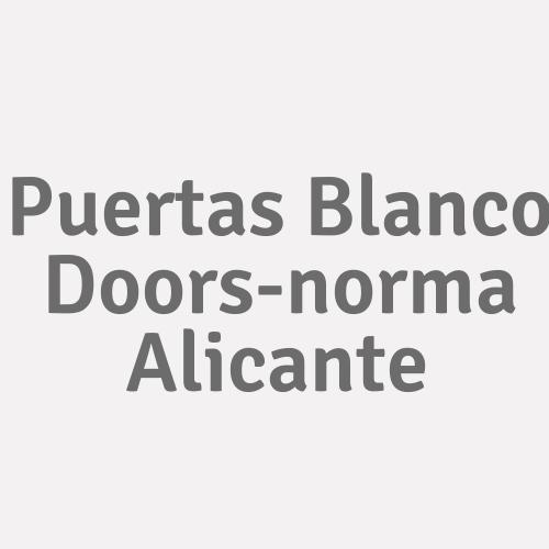 Puertas Blanco Doors-norma Alicante