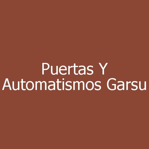Puertas Y Automatismos Garsu