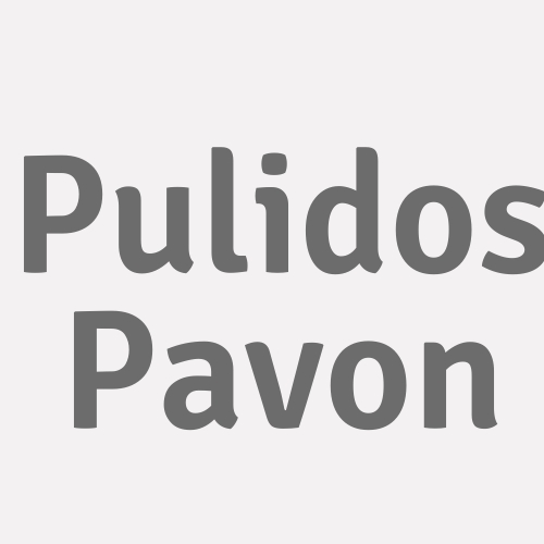 Pulidos Pavon