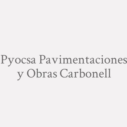 Pyocsa Pavimentaciones y Obras Carbonell