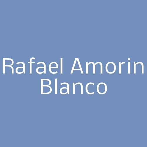 Rafael Amorin Blanco