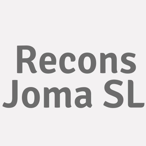 Recons Joma S.l.