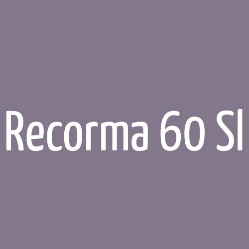 Recorma 60 Sl