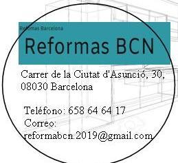 Reformas Bcn