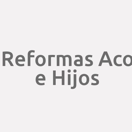 Reformas Aco e Hijos