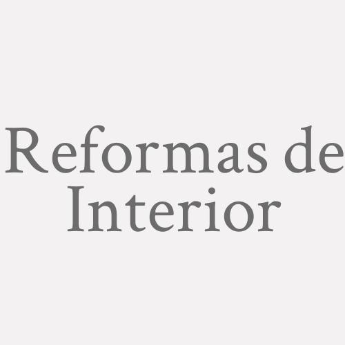 Reformas De Interior