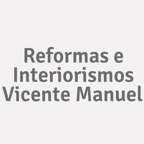 Reformas E Interiorismos Vicente Manuel