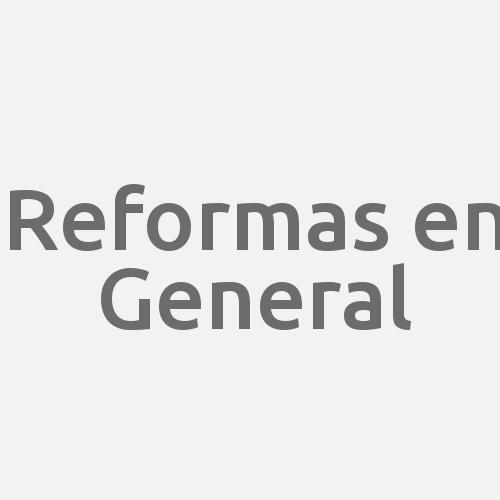 Reformas En General.