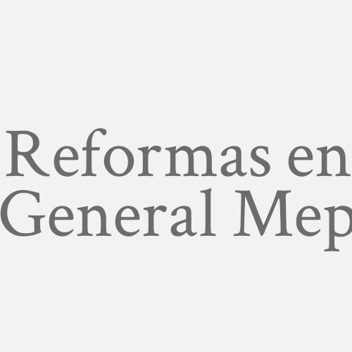 Reformas En General Mep