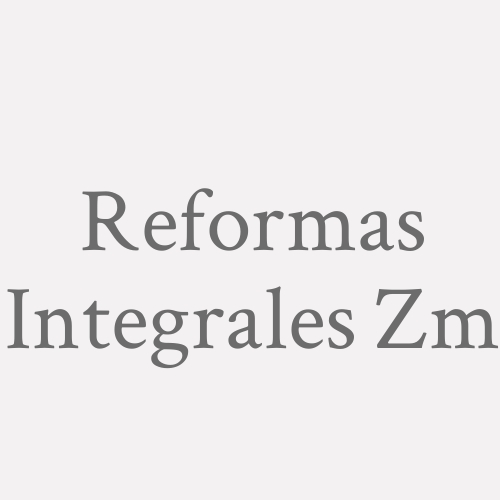 Reformas Integrales Zm