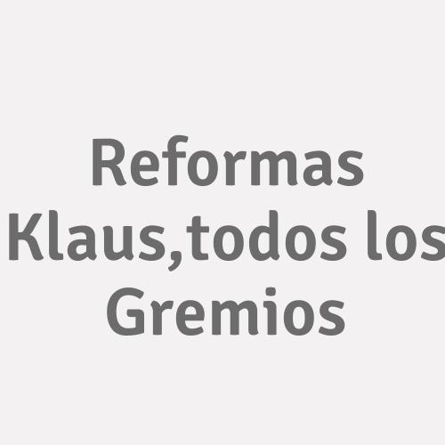 Reformas Klaus, Todos Los Gremios
