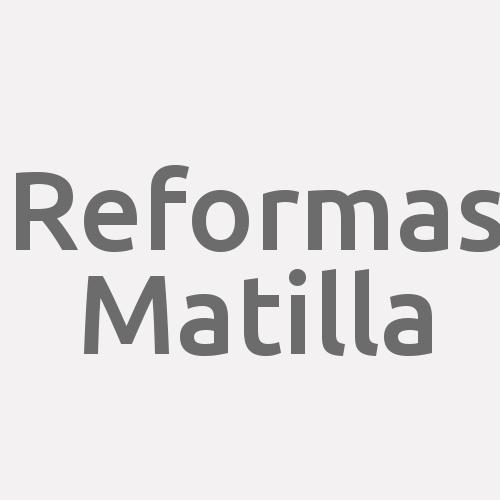 Reformas Matilla