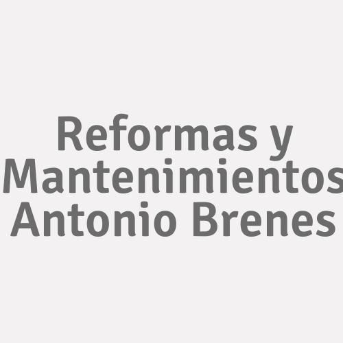Reformas Y Mantenimientos Antonio Brenes