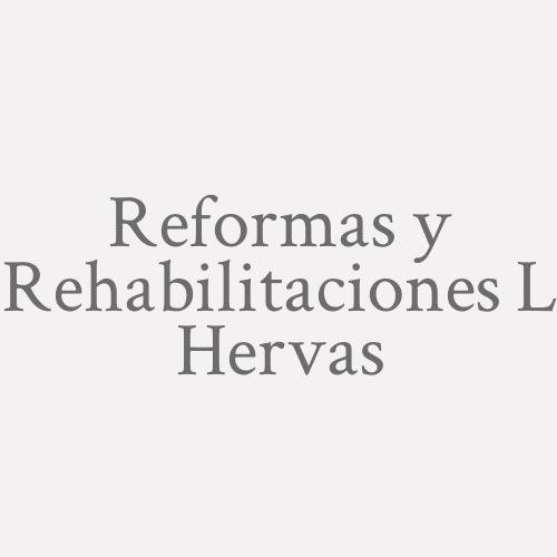 Reformas Y Rehabilitaciones L. Hervas