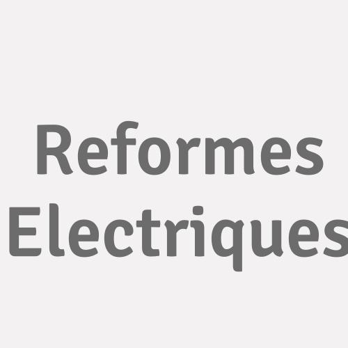 Reformes Electriques