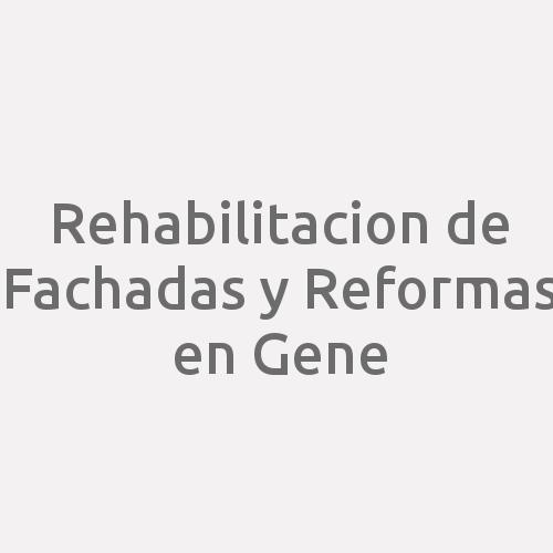 Rehabilitacion De Fachadas Y Reformas En Gene