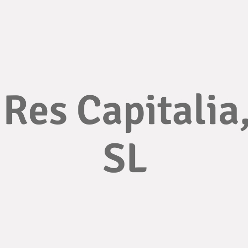 Res Capitalia, .sl.