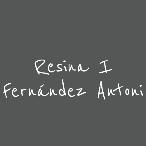 Resina i Fernández Antoni
