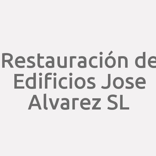 Restauración De Edificios Jose Alvarez Sl