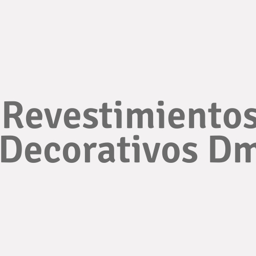Revestimientos Decorativos Dm