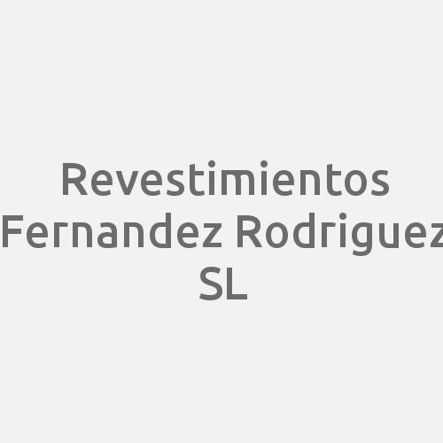 Revestimientos Fernandez Rodriguez SL