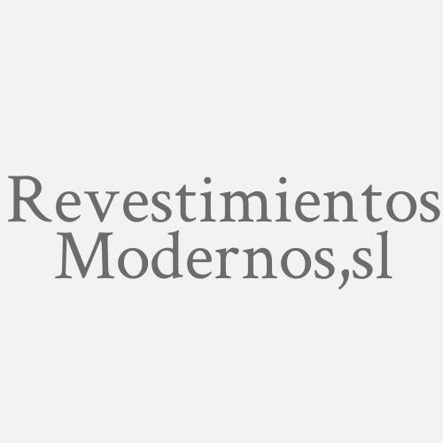 Revestimientos Modernos, S.L.