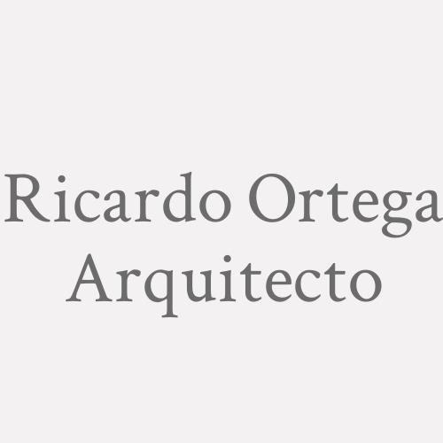 Ricardo Ortega. Arquitecto