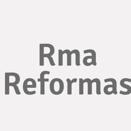 R.m.a. Reformas