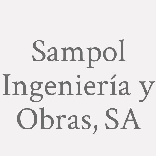 Sampol Ingeniería y Obras, SA