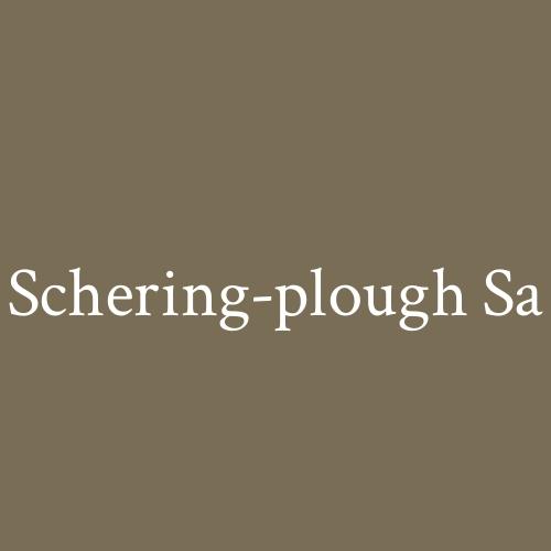 Schering-plough Sa