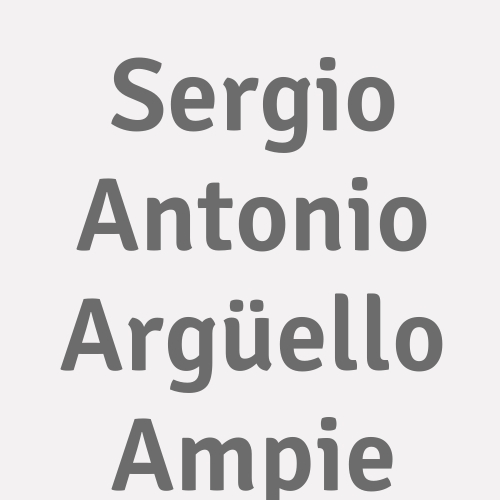 Sergio Antonio Argüello Ampie