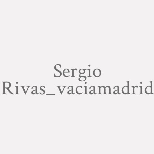 Sergio Rivas_vaciamadrid