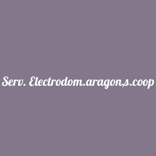 Serv. Electrodom.aragon,s.coop