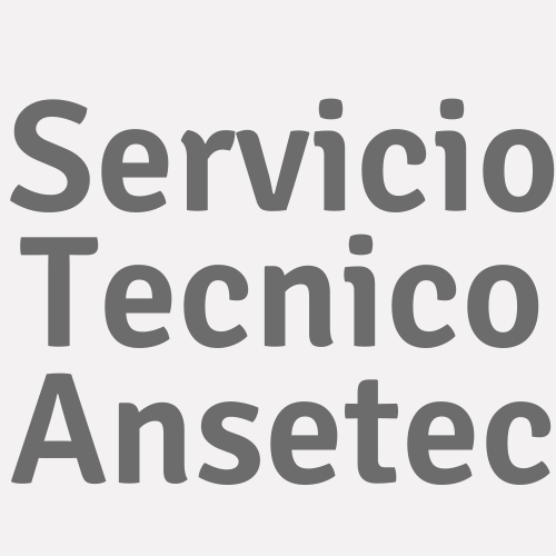 Servicio Tecnico Ansetec
