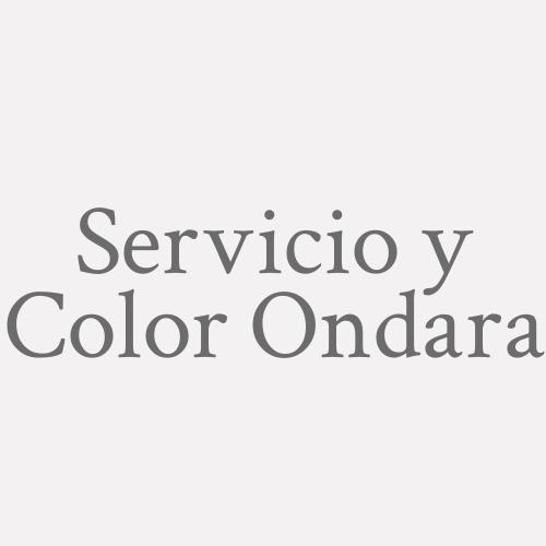 Servicio y Color Ondara