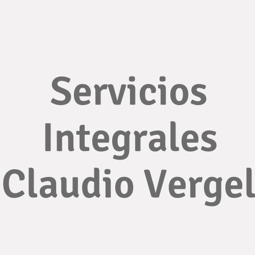 Servicios Integrales Claudio Vergel