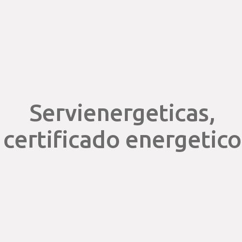 Servienergeticas, Certificado Energetico