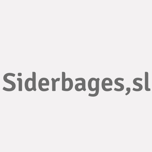 Siderbages,s.l.