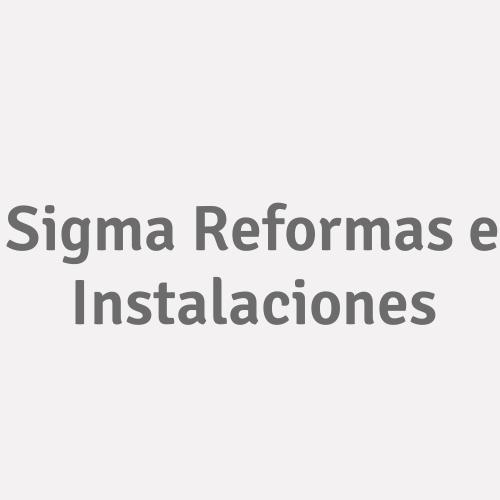 Sigma Reformas e Instalaciones