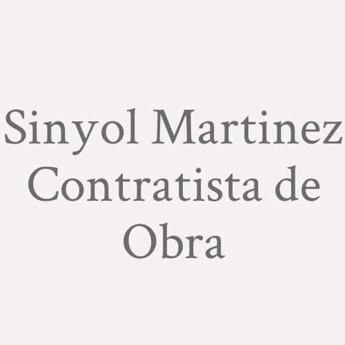 Sinyol Martinez Contratista de Obra