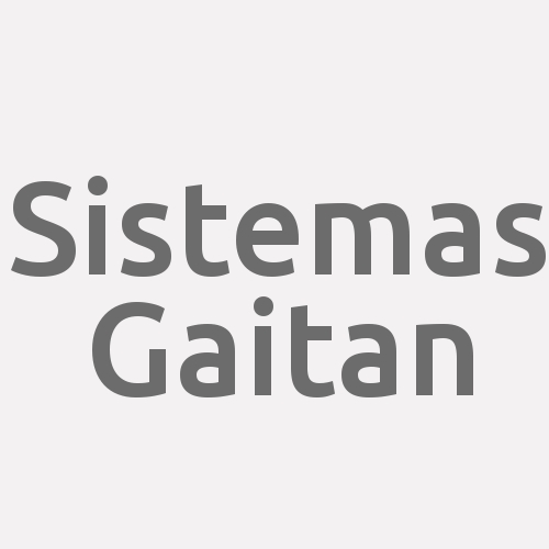 Sistemas Gaitan