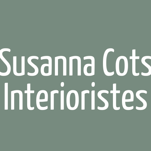 Susanna Cots Interioristes