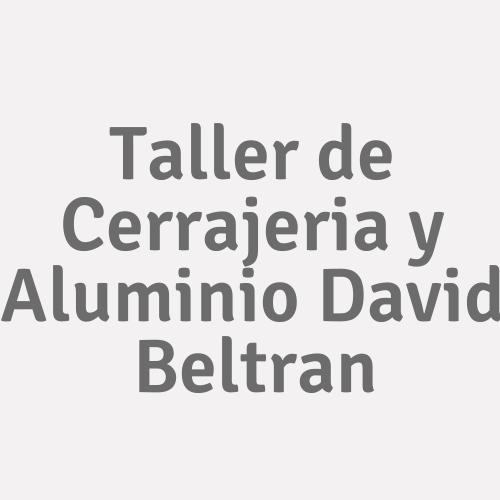 Taller De Cerrajeria Y Aluminio David Beltran