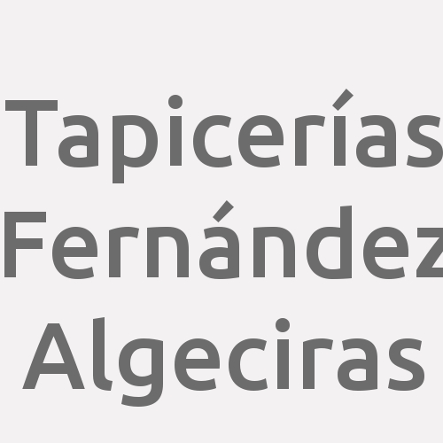 Tapicerías Fernández Algeciras